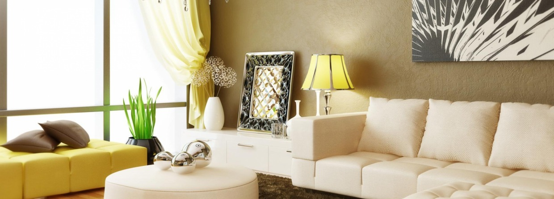 Zonnig interieur met veel licht