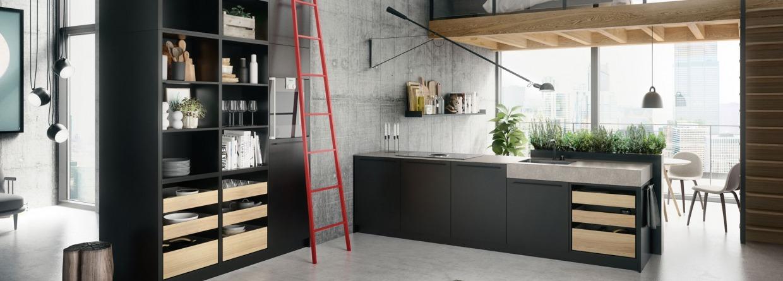 Moderne trendy keuken